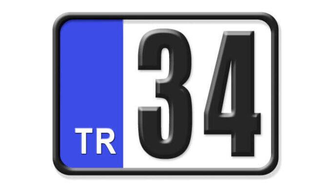 34 Nerenin Plakası, İstanbul Plakası, 34 Plaka Kodu