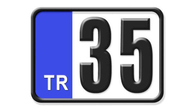 35 Nerenin Plakası, İzmir Plakası, 35 Plaka Kodu