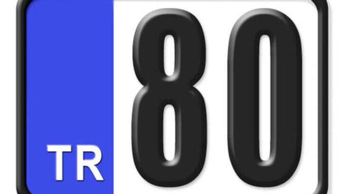 80 Nerenin Plakası, Osmaniye Plakası