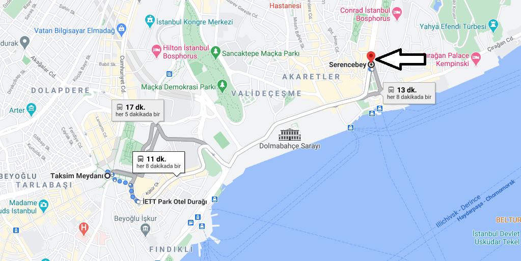 Serencebey Nerede, Nereye Bağlıdır