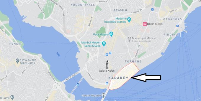 Karaköy Nerede, Nereye Bağlı, Nasıl Gidilir