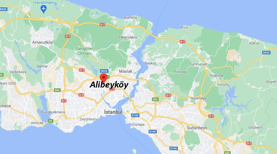 Alibeyköy Nerede, Nereye Bağlı, Nasıl Gidilir