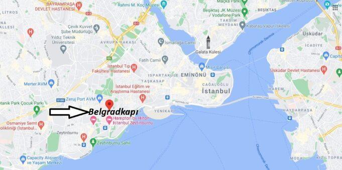 Belgradkapı Nerede, Nereye Bağlı, Nasıl Gidilir