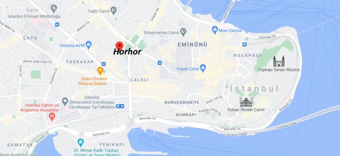 Horhor Nerede, Nereye Bağlı, Nasıl Gidilir